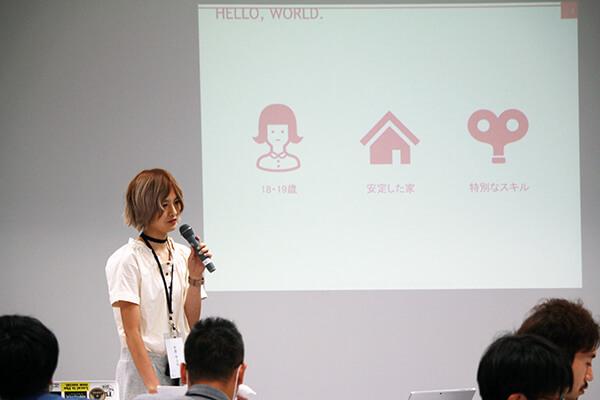 Re:Starting Line(Presentation)の風景