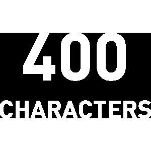 400文字