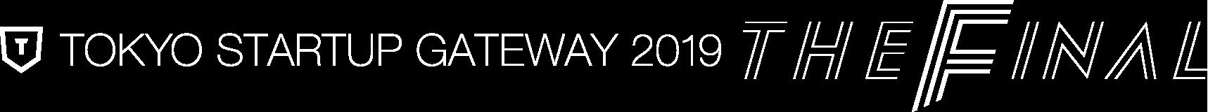TOKYO STARTUP GATEWAY 2019 THE FINAL