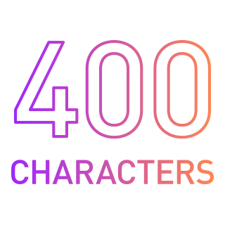 Icon of 400chars
